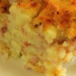 Potatoe and ham casserole – Thanksgiving for kids