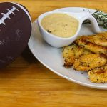 Baked chicken strips with onion dip recipe – Super Bowl for kids