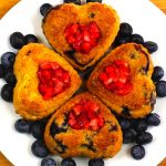 Heart quinoa cupcakes recipe – gluten free – San Valentine day