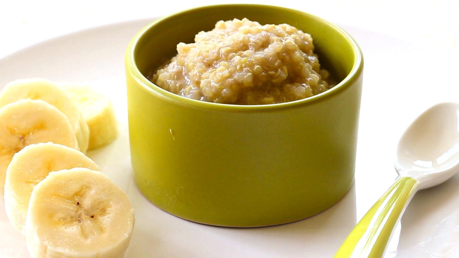 Banana Quinoa Pudding Buona Pappa
