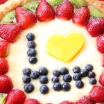 Crostata di frutta – fruit tart for mother's day