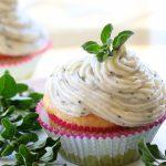 Smoked salmon cupcakes