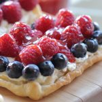 Berry fruit tart – 4th July party