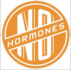 no hormones