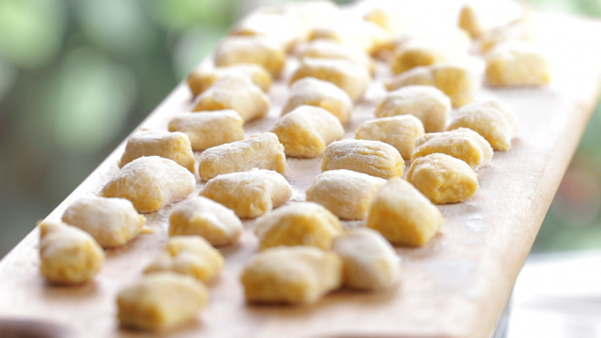 pumkin gnocchi with gorgonzola sauce | Buona Pappa
