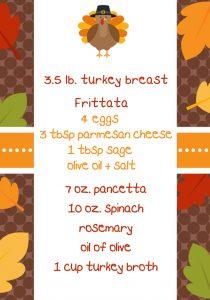 turkey roast ingred