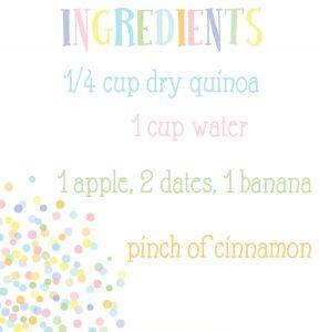quinoa ingred