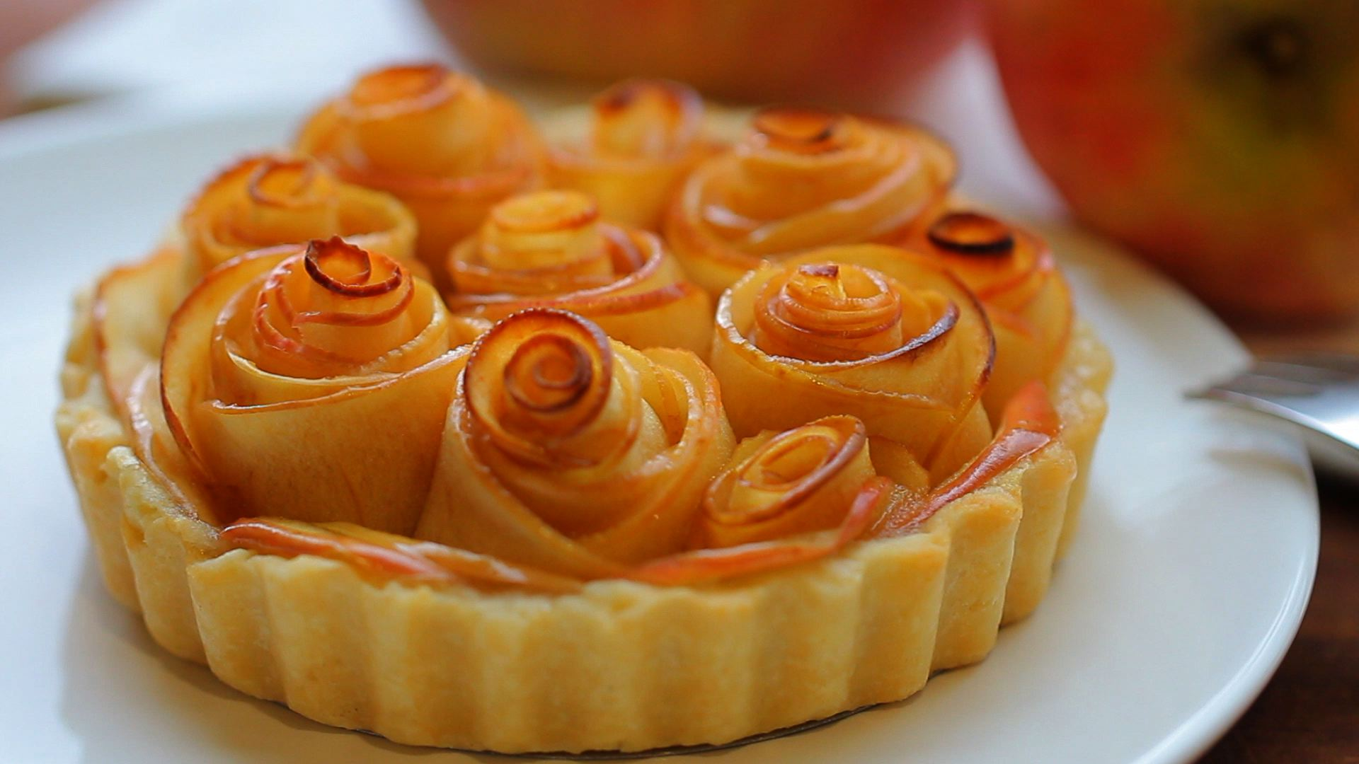 Rose Apple Tart For Mother S Day Buona Pappa