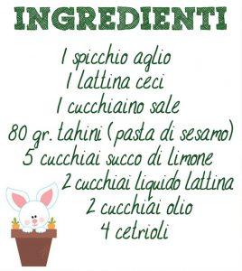 cetrioli ingred