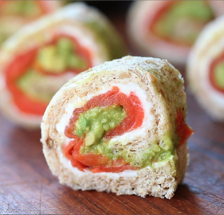 smoked salmon rolls quadr