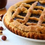 Crostata with homemade Nutella – no butter, no eggs, no milk!