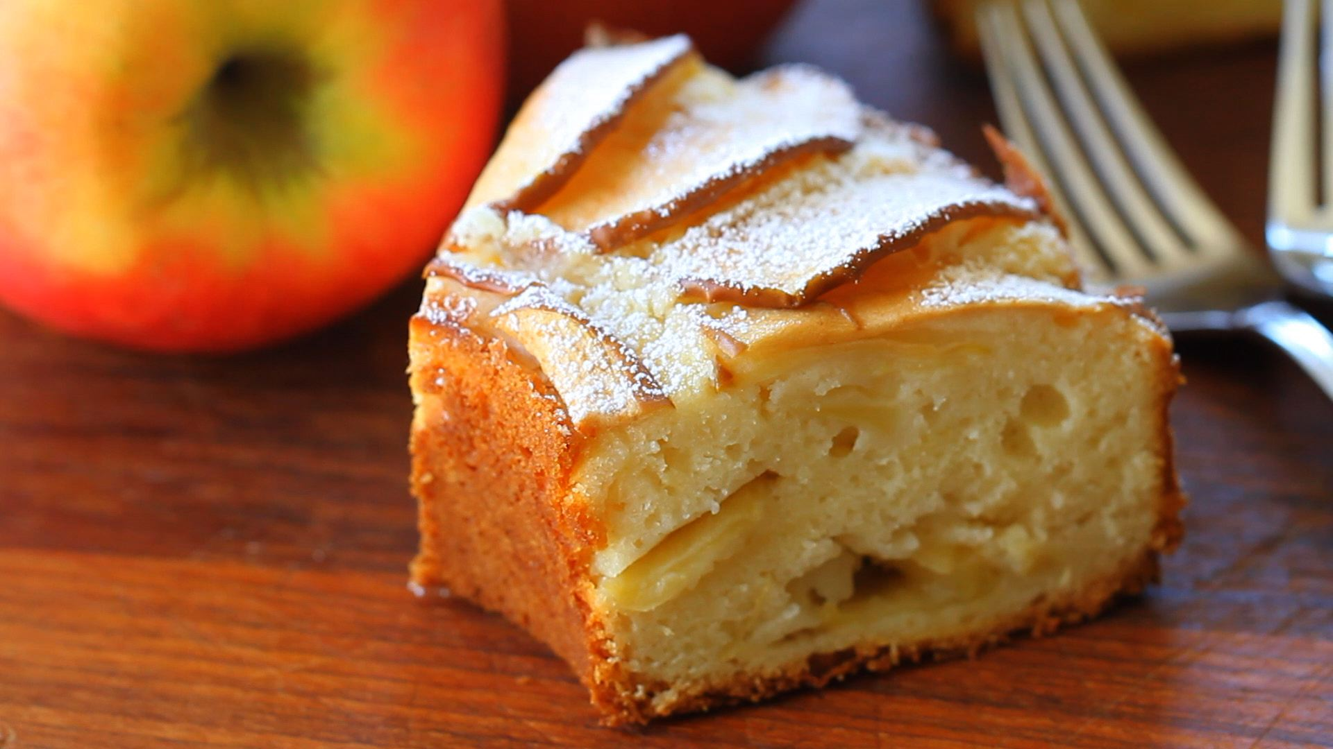 Almond Flour Apple Cake