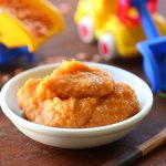 Red lentils puree