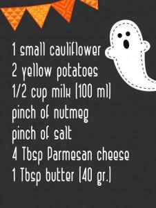 potato ghosts ingred