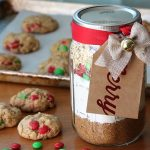 Chocolate cookies in a jar