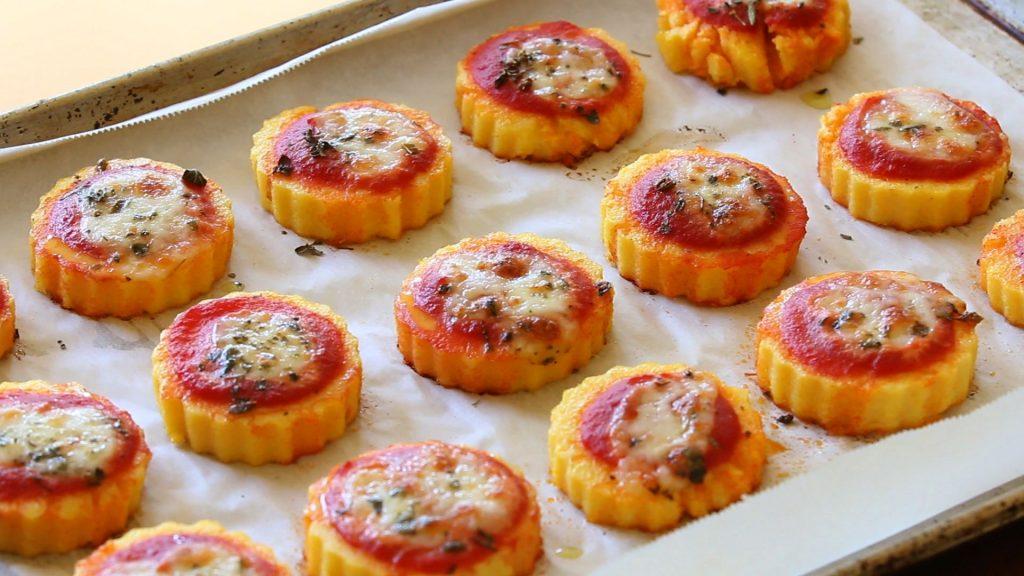pizzette polenta