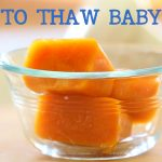 How to thaw baby food – Baby food basics