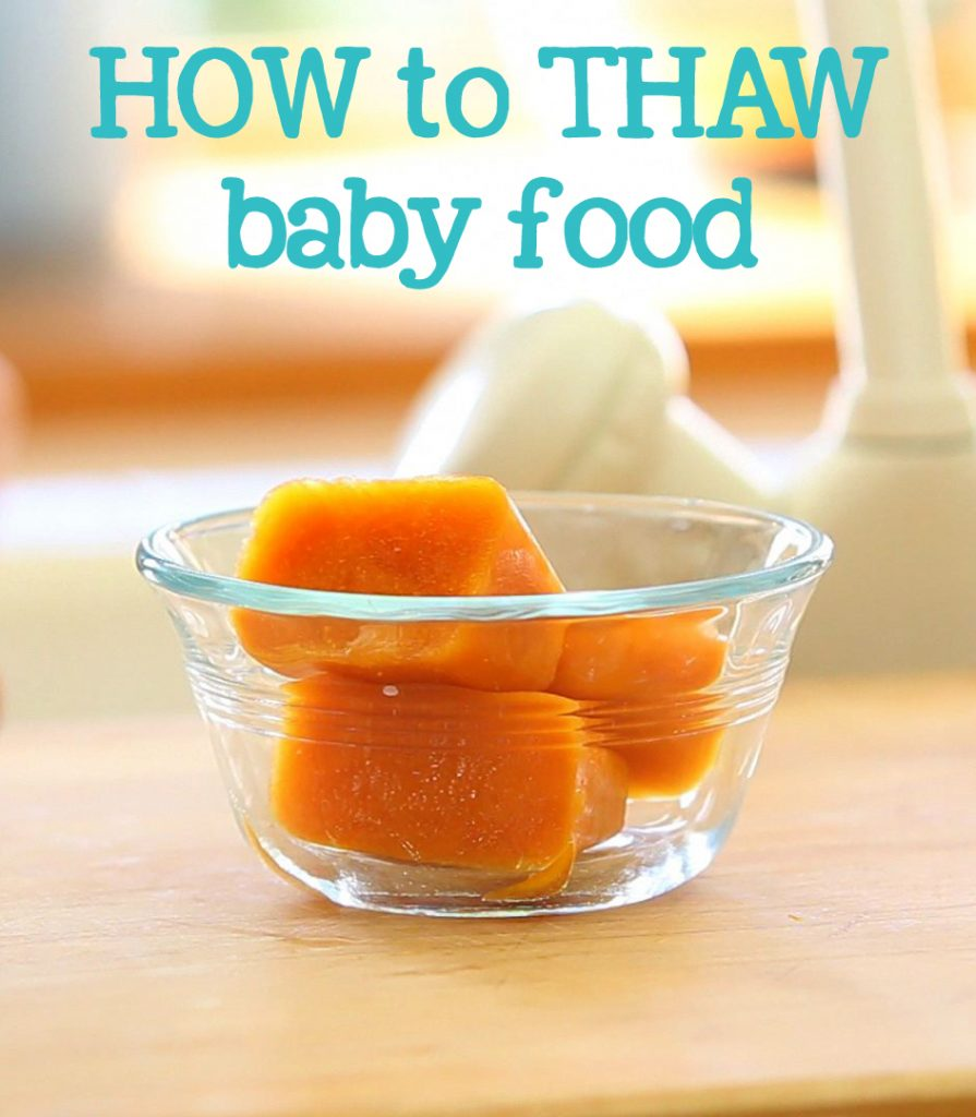 thaw baby food pinterest