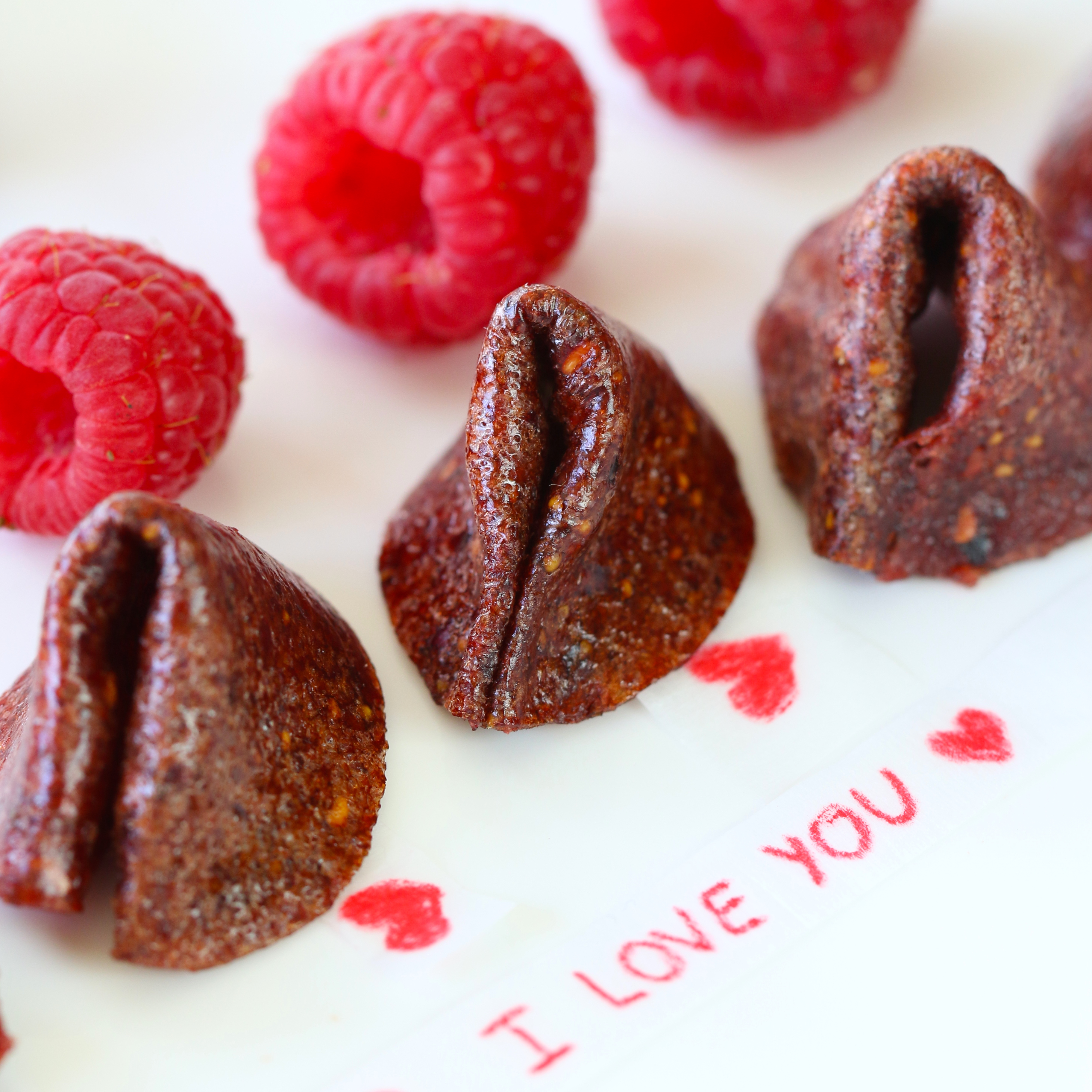 fruit leather fortune cookies valentine day