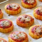 Gluten free polenta pizza