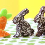 Chocolate bunny truffles without chocolate – dairy free – vegan