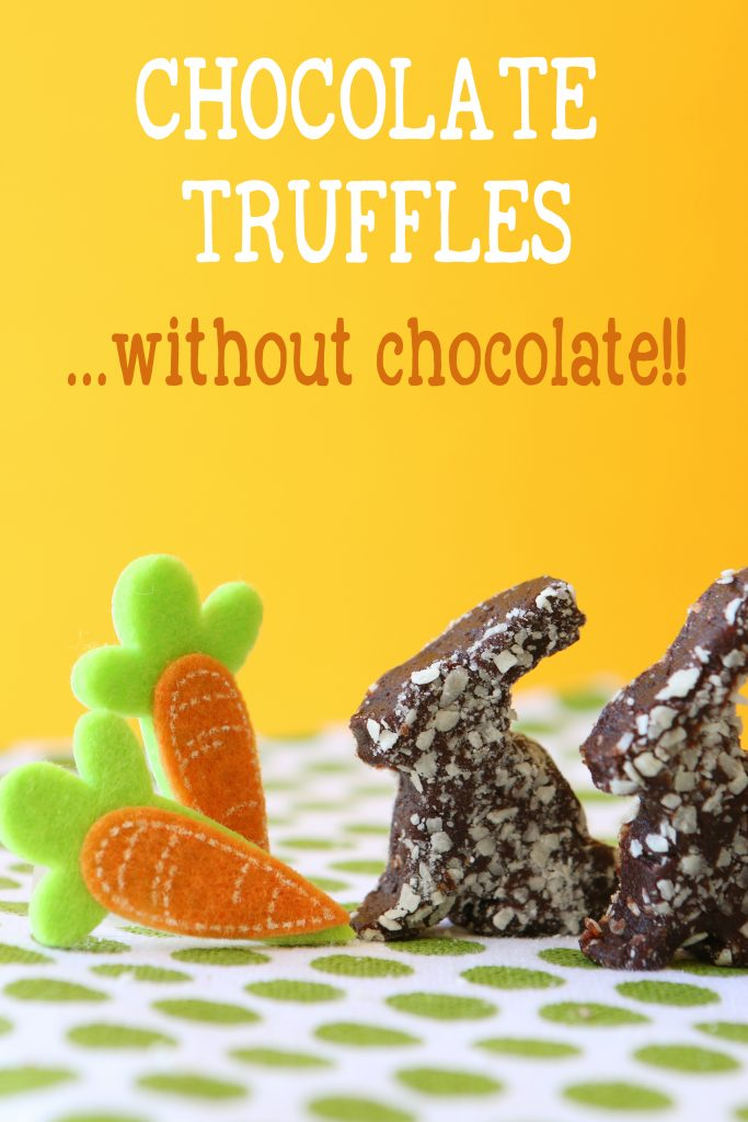 healthy chocolate truffles dairy free