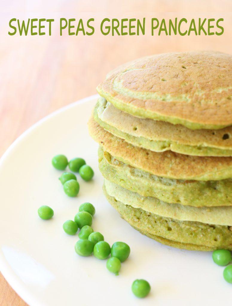 sweet peas green pancakes long