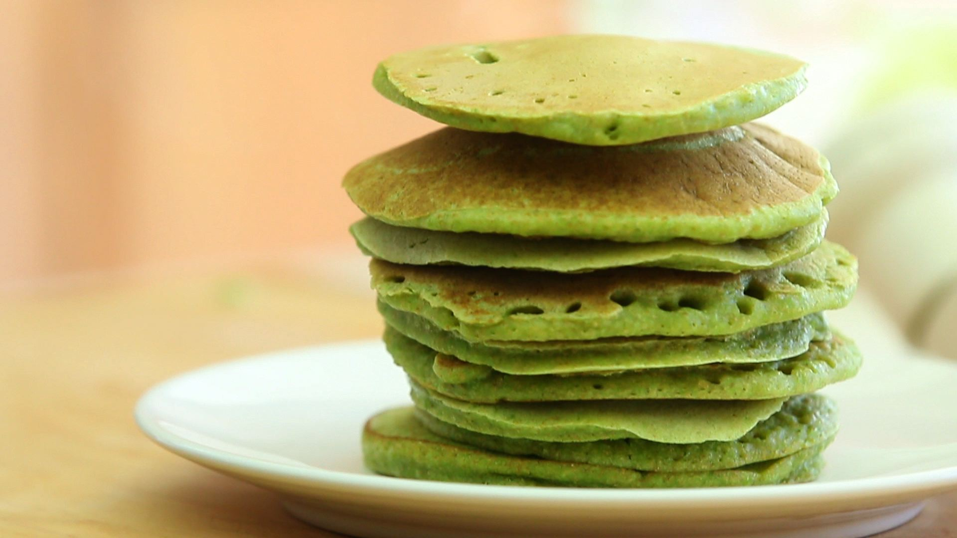 Green pancakes recipes
