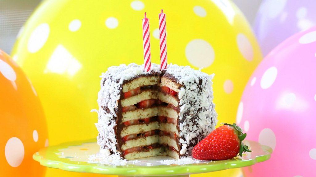 torta fragole ciocco