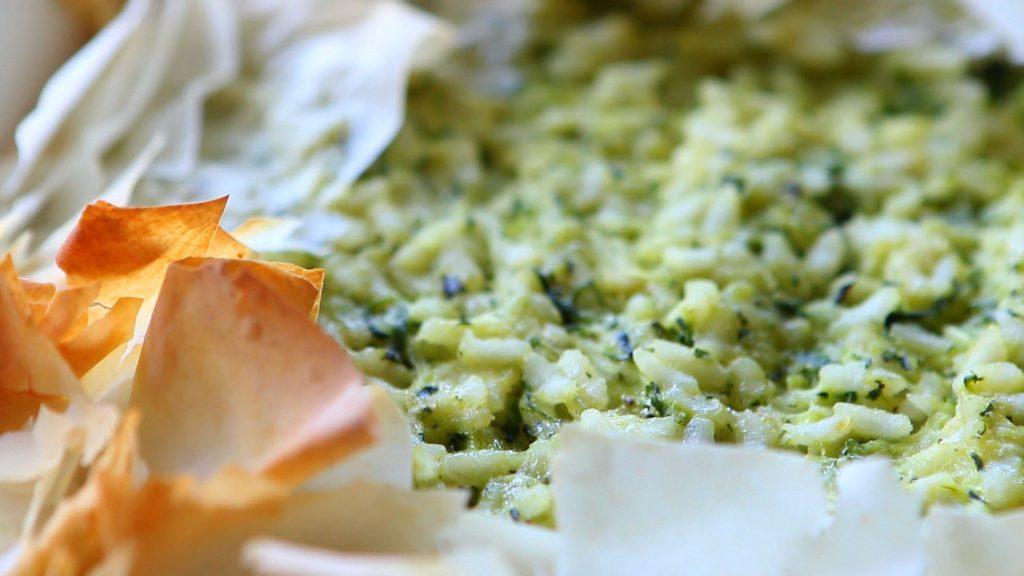 zucchini rice pie