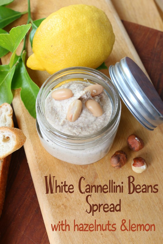 white cannellini spread
