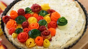 zucchini rose tart16