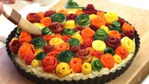 zucchini rose tart22
