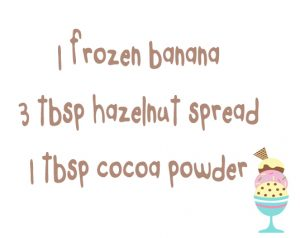 choco ice cream ingred