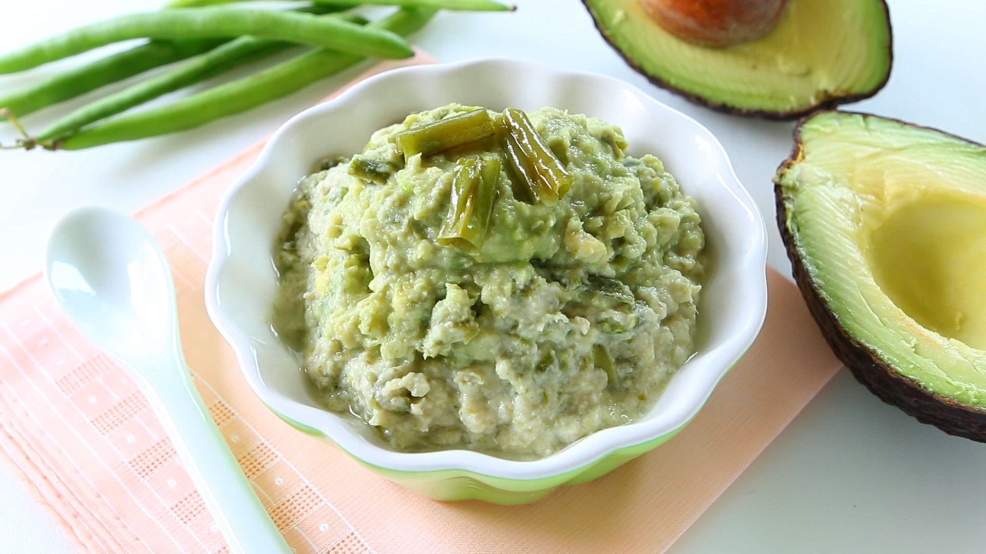 Green beans chicken and avocado baby food   Buona Pappa - photo#34