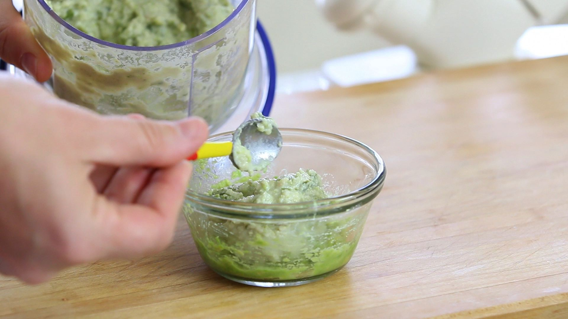 Green beans chicken and avocado baby food   Buona Pappa - photo#13