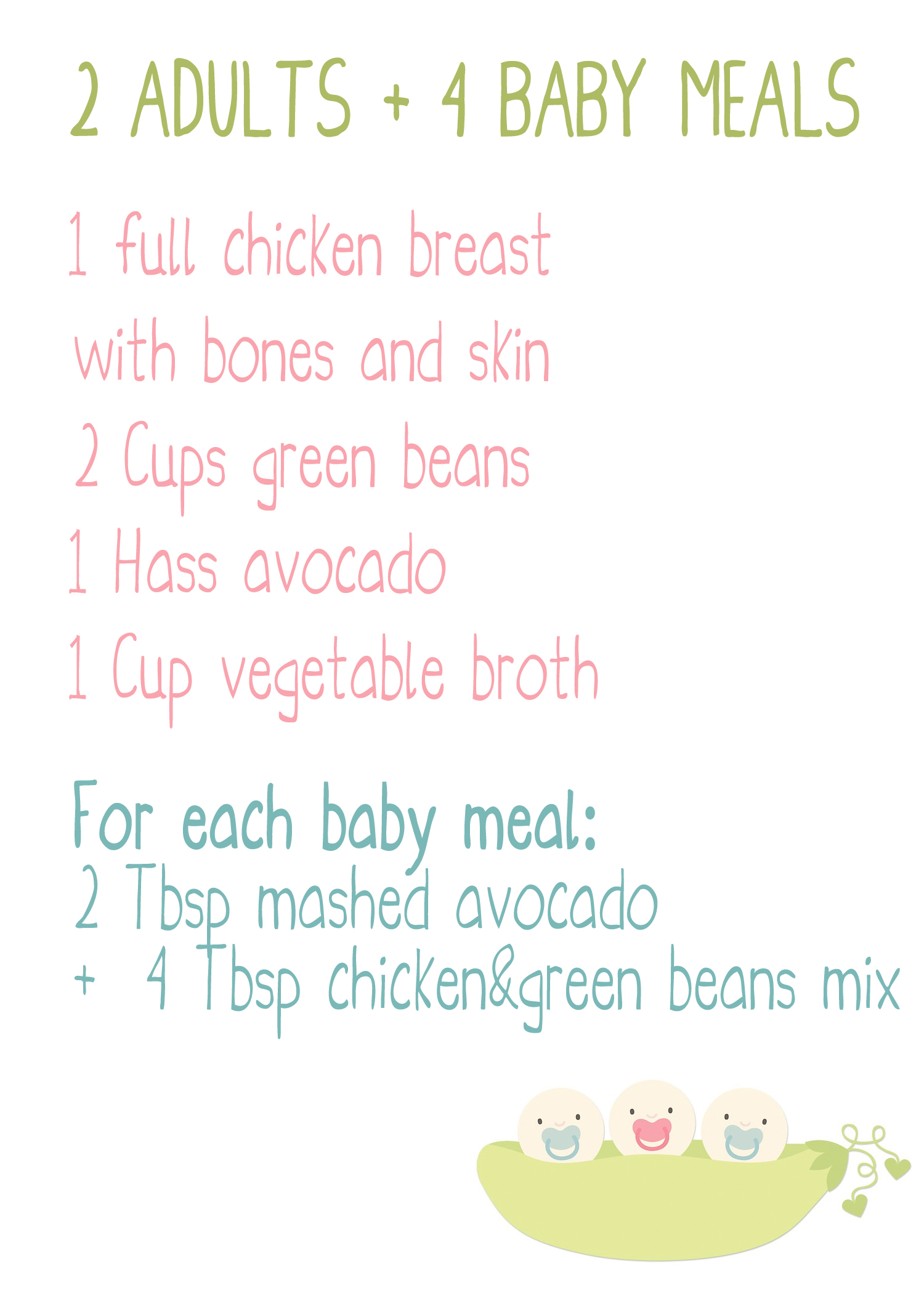 how to cook chicken for baby puree