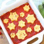 Semolina stars gnocchi with fresh tomato sauce