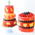 Animal party watermelon cake recipe