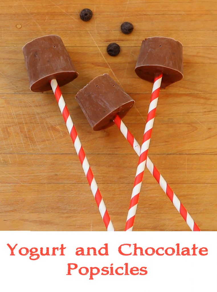 yogurt choco pops recipe
