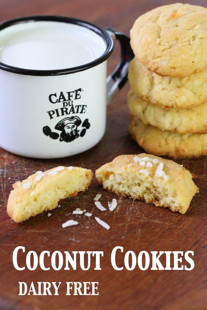 coconut cookies long