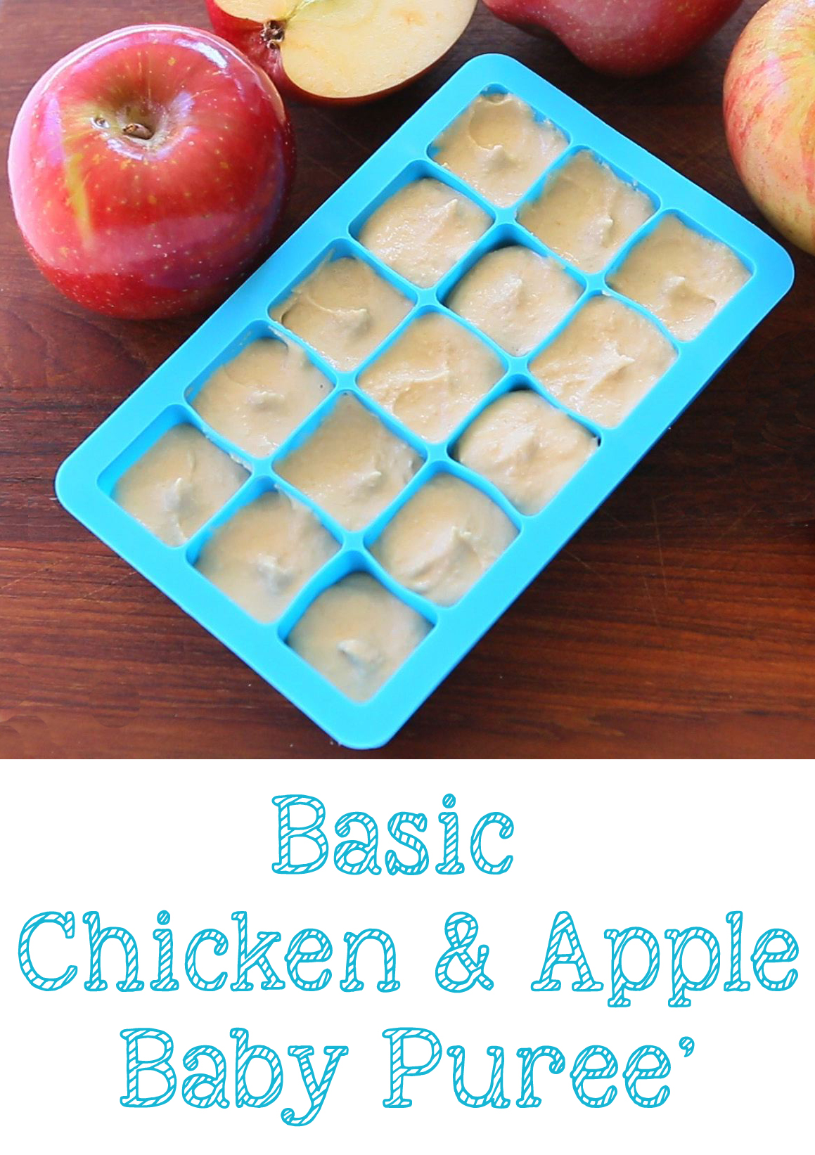 Basic chicken apple baby food buona pappa chicken apple puree long forumfinder Images