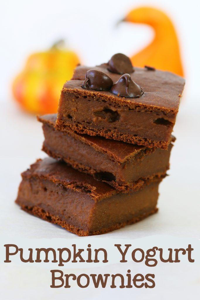 pumpkin brownies long