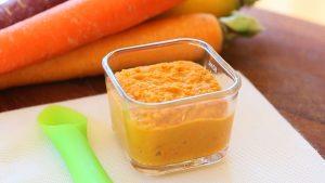 Roasted carrots hummus