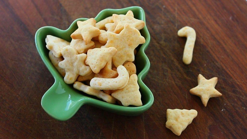 crackers formaggio
