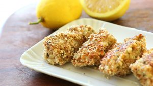 Baked fish sticks - Gluten free