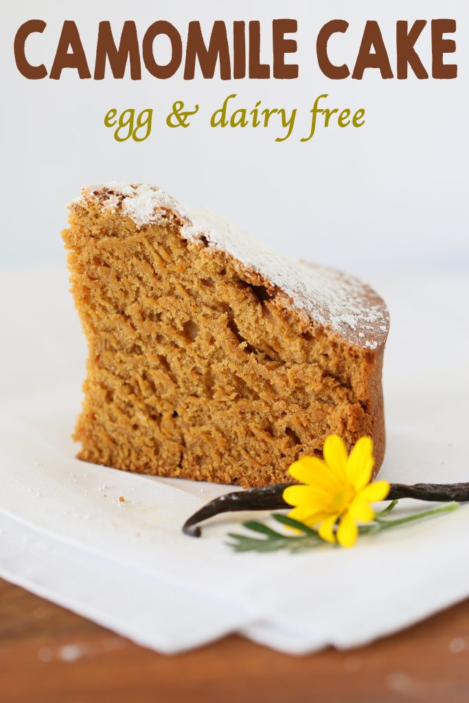 camomile cake long