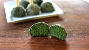 Baked Kale Spinach balls