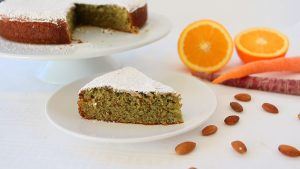 Carrot and Orange Cake - dairy free