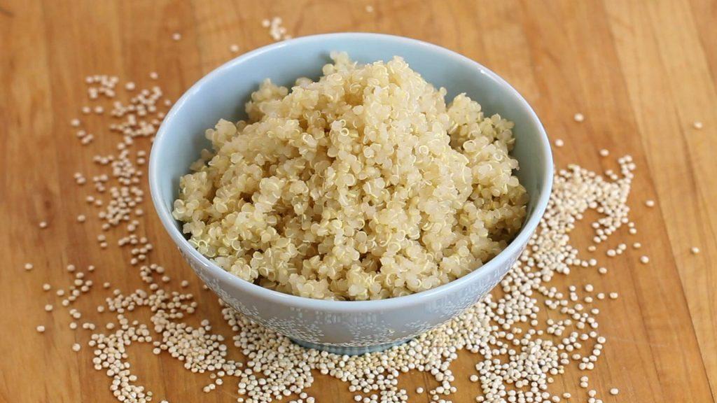 mango quinoa apple puree4